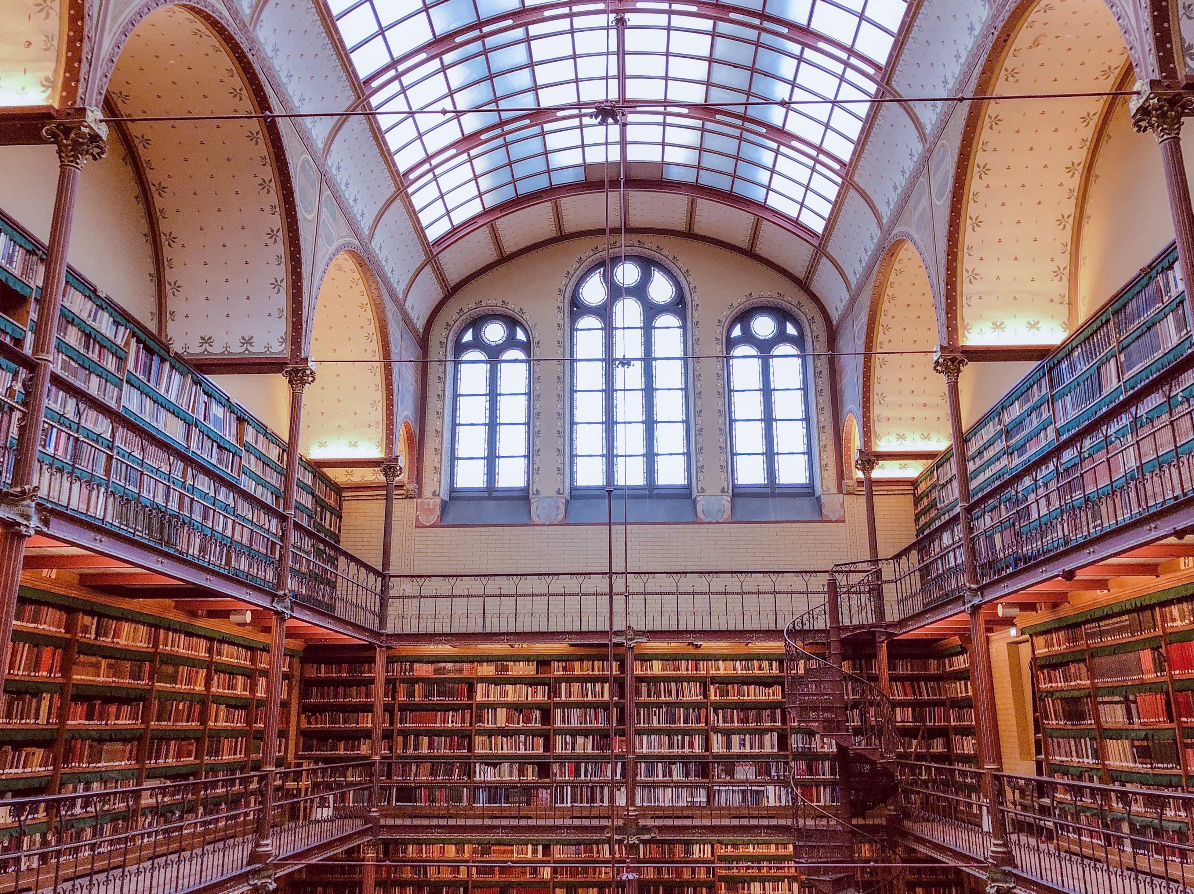 Library in Rijkmuseum