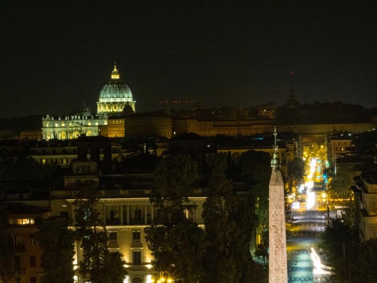 Views from Terrazza del Pincio