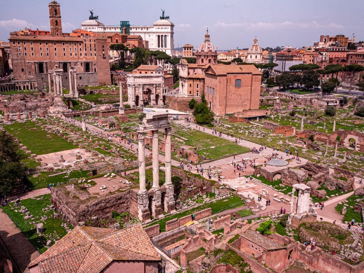 Ruins of Ancient Rome